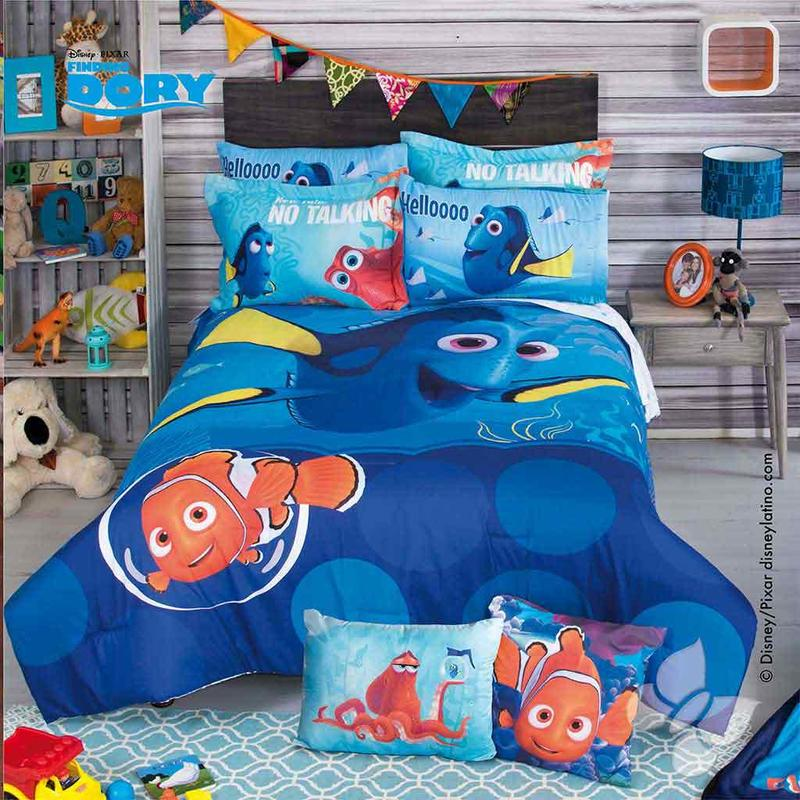 Disney Pixar Finding Dory Comforter Set